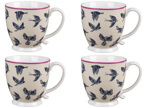 Cambridge CM03619 Kensington Avairy Fine China Mug Set of 4 Thumbnail 1