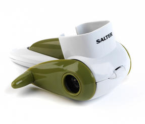 Salter Green and White Cheese Grater