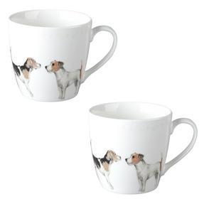 Cambridge CM04286 Harrogate Terrier Friends Fine China Mug Set of 2 Thumbnail 1