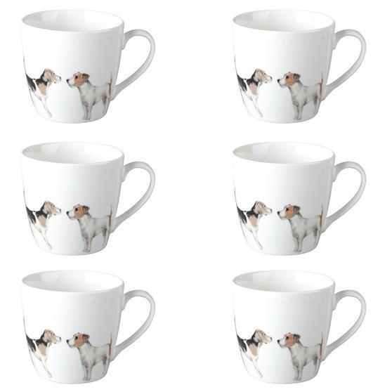 Cambridge CM04286 Harrogate Terrier Friends Fine China Mug Set of 6