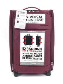 Constellation Universal Cabin Case, 33 Litre, Raspberry Thumbnail 7