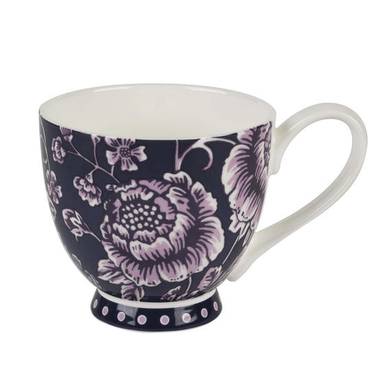 Portobello CM04595 Sandringham Aura Purple Bone China Mug