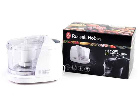 Russell Hobbs 18531 White Food Collection Mini Chopper
