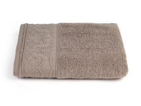 Frette P500721 Light Brown Cotton Hand Towel 60 x 110 cm