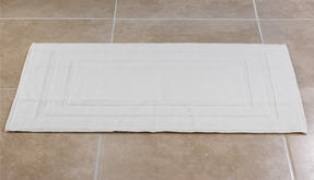 Frette P500724 100% Cotton White Bath MaT Thumbnail 1