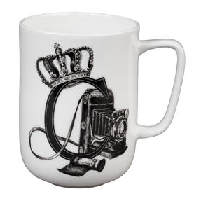 Portobello CM04993 Devon Crowned Camera Bone China Mug Thumbnail 1