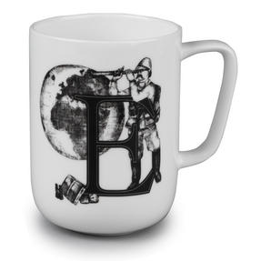 Portobello CM04994 Devon Exploring The Earth Bone China Mug Thumbnail 1