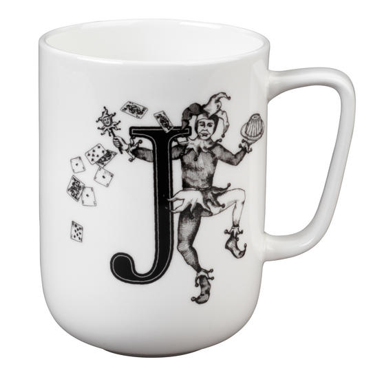 Portobello Devon Juggling Joker Bone China Mug