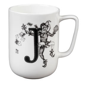 Portobello CM04995 Devon Juggling Joker Bone China Mug Thumbnail 1