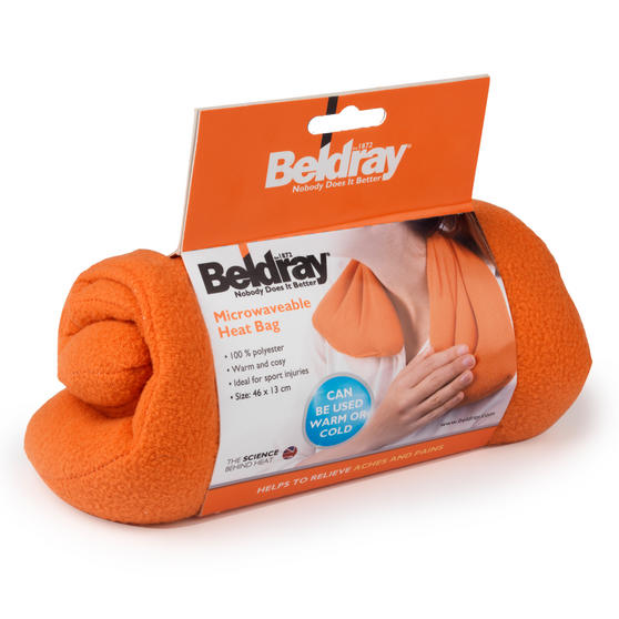 Beldray Microwavable Polyester Heat Bag 46cm x 13cm