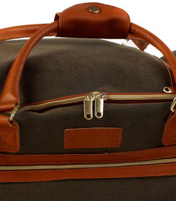 Constellation Esquire Suedette Roller Holdall, Green Thumbnail 5