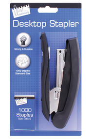 Just Stationery 6185 Large Stapler with 1000 Staples Thumbnail 1