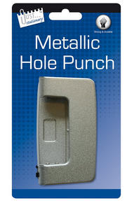 Just Stationery 5927 Metallic Hole Punch