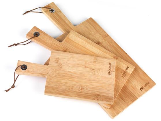 Progress BW05082 3 Pack Paddle Chopping Board Set