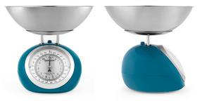 Progress BW05101 Blue 5 kg Mechanical Bubble Kitchen Scale Thumbnail 2