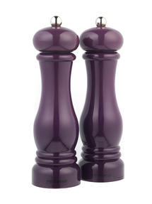 Progress BW05148 Set of 2 Purple Salt and Pepper Mills Thumbnail 1