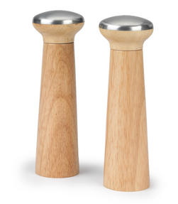 Progress BW05153 Set of 2 Nordic Salt and Pepper Mills Thumbnail 1