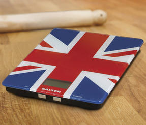 Salter 1100UJDR Best of British Union Jack Electronic Glass Scale Thumbnail 2