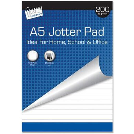 Just Stationery 5001 A5 Jotter Pad