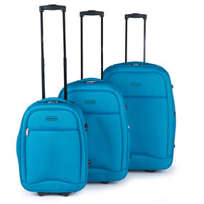 "Constellation Luggage Set, 18, 22 & 26"", Teal"