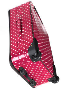 """Constellation Suitcase Travel Trolley, 28"""", Berry Polka Dot Thumbnail 3"""