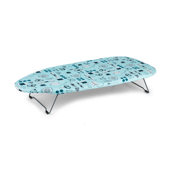 Beldray Sewing Print Table Top Ironing Board 76 x 33cm Thumbnail 1
