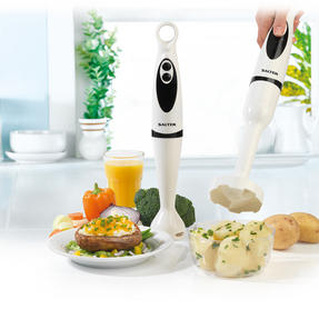 Salter EK2291 2 in 1 Hand Blender and Masher 400 Watt 2 Speed Settings
