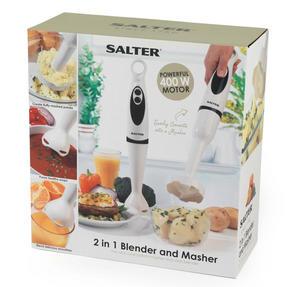 Salter EK2291 2 in 1 Hand Blender and Masher 400 Watt 2 Speed Settings Thumbnail 3