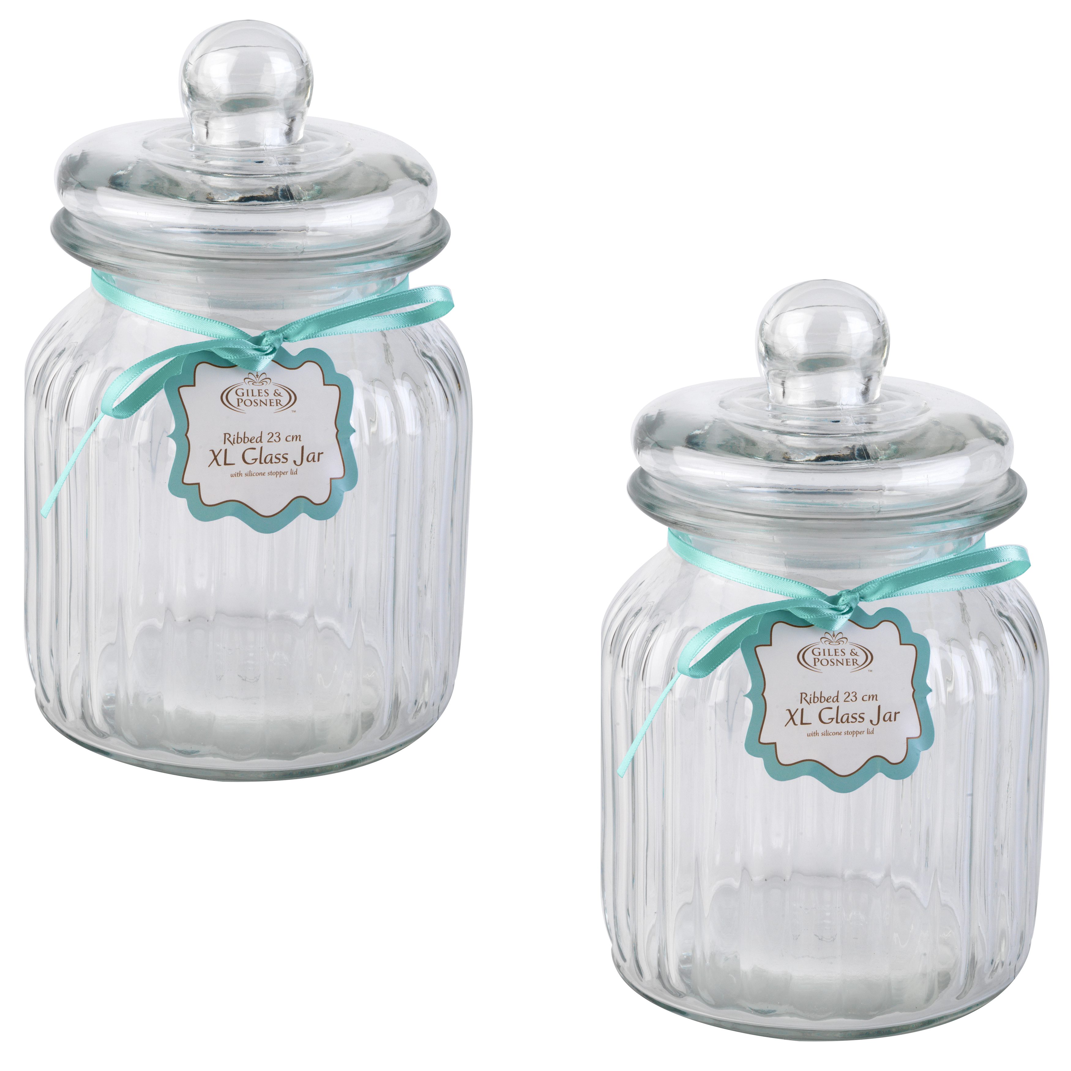 Old fashioned glass jars 96