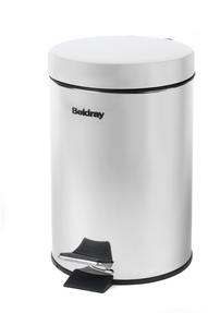 Beldray LA038098SS 3 Litre Stainless Steel Waste Bin with Soft Closing Lid