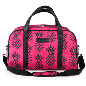 Constellation Pineapple Print Carry Holdall, Pink
