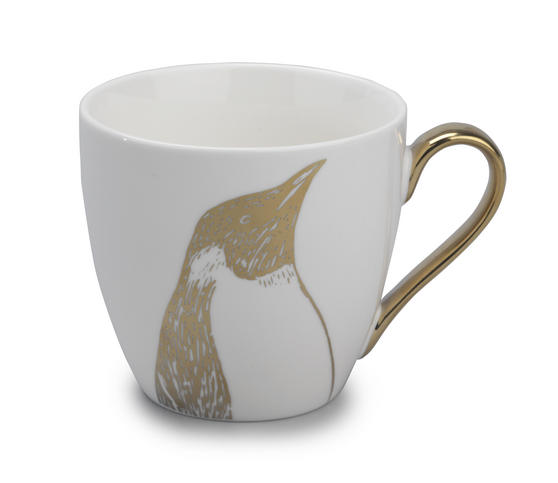 Cambridge CM05036 Kendal Gold Penguin Fine China Mug
