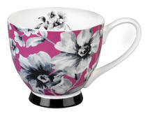 Portobello CM04811 Footed Maya Pink Sandringham Fine Bone China Mug Thumbnail 1