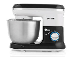 Salter EK2290 Food Stand Mixer 600 Watt Black and White with 4.5 Litre Bowl Thumbnail 3