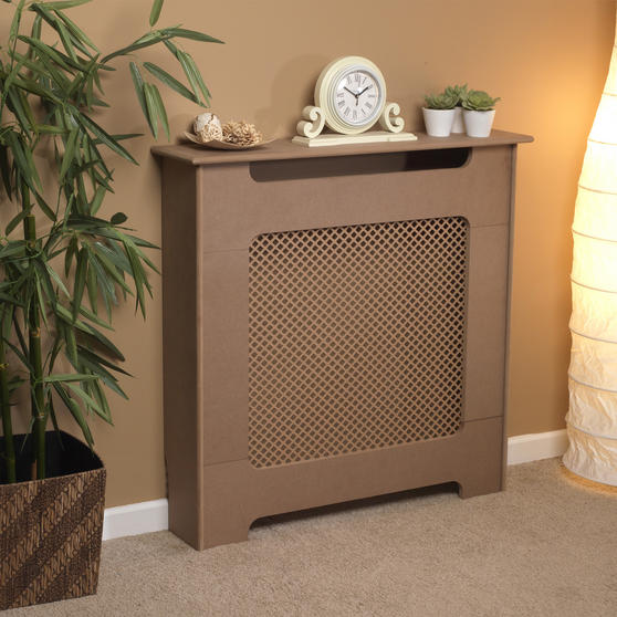 Beldray Wooden Radiator Cover, 100% FSC, Small, Natural Finish
