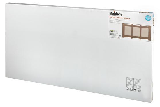 Beldray Wooden Radiator Cover, 100% FSC, Large, Natural Finish Thumbnail 3