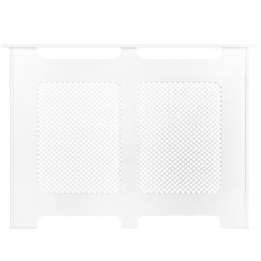 Beldray EH1841STK Wooden Radiator Cover, 100% FSC, Medium, White Satin Finish Thumbnail 2