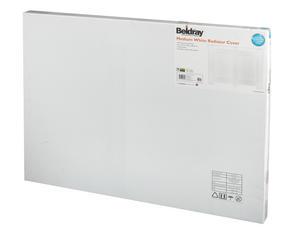 Beldray EH1841STK Wooden Radiator Cover, 100% FSC, Medium, White Satin Finish Thumbnail 3