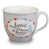 Cambridge Oxford Love Makes A Home Fine China Mug CM04710 Thumbnail 1