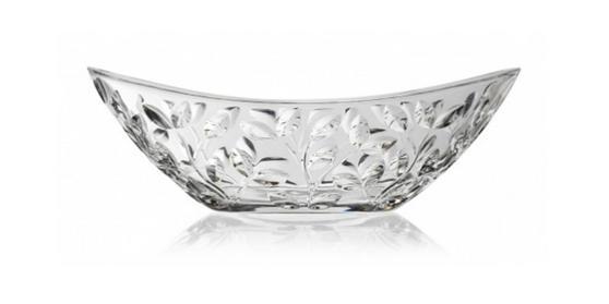 RCR 25592020006 Crystal Laurus 34cm Oval Centrepiece Bowl
