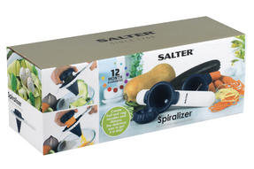 Salter BW05371 Blue Handheld 2 in 1 Spiralizer Thumbnail 4