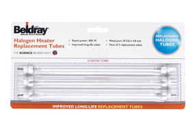 Beldray EH1723 Halogen Heater 400 Watt Pack Of 3 Long Life Replacement Bulbs Thumbnail 2