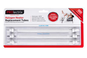 Prolectrix EH1723PRO Halogen Heater 400 Watt Pack Of 3 Long Life Replacement Bulbs Thumbnail 2