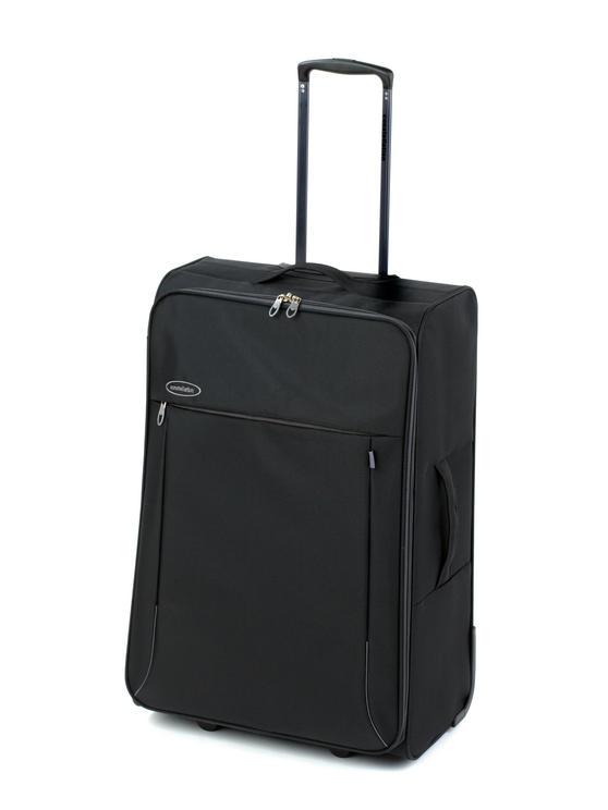 "Constellation Superlite Suitcase, 28"", Black/Grey"