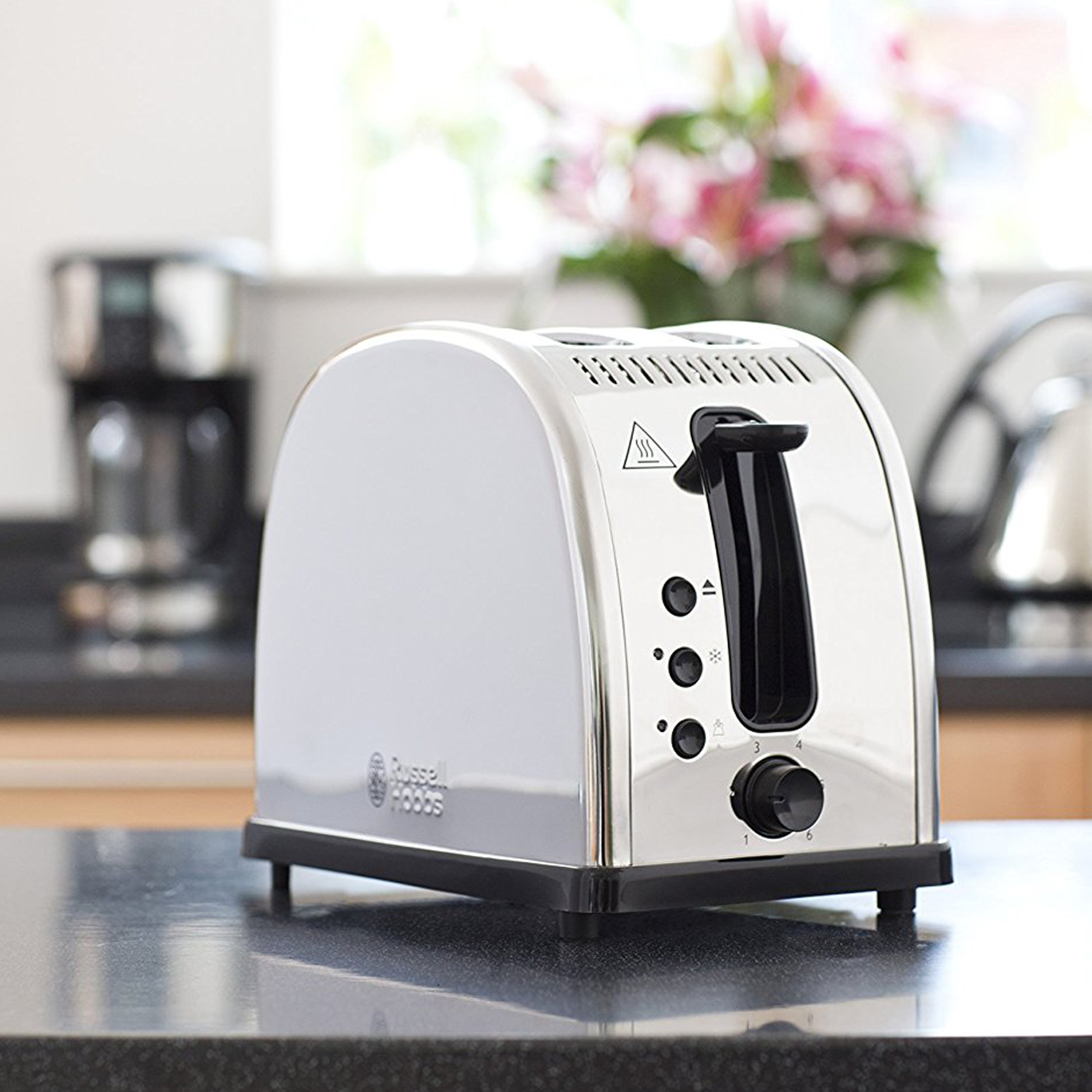 Russell Hobbs 21290 Legacy 2 Slice Toaster Polished