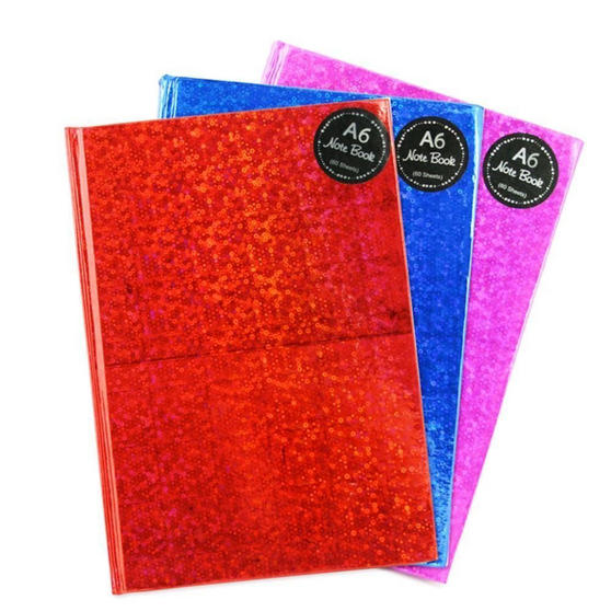 Just Stationery 6702 A6 Ruled Hardback Book