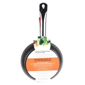 Russell Hobbs BW05465BS Infinity Preseasoned Carbon Steel Frying Pan, 20 cm, Black Thumbnail 8
