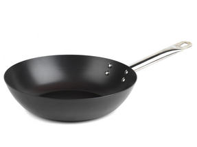 Russell Hobbs BW05468BS Infinity Preseasoned Carbon Steel Wok, 28 cm, Black Thumbnail 5