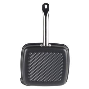 Russell Hobbs BW05469BS Infinity Preseasoned Carbon Steel Griddle Pan, 26 cm, Black Thumbnail 3