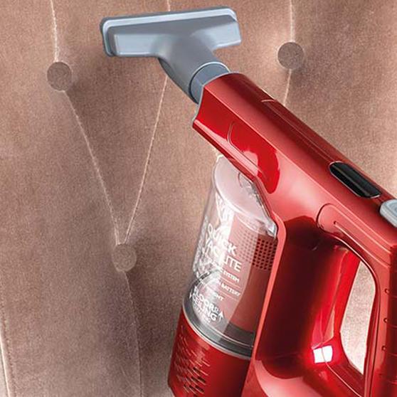 Beldray 22.2 V Cordless Quick Vac Lite, Red Thumbnail 7